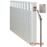 Радиатор EnergoLux SCCT-03/390, 3 секции, SCS-картридж, беспроводной датчик