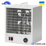 Тепловентилятор ТЭВ - 12 кВт 380 В, электрический с нержавеющими ТЕНами и автоматикой