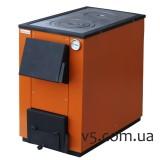 Котел MaxiTerm – П20 20 кВт с варочной плитой  твердотопливный, универсальный